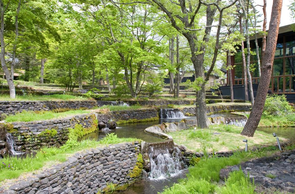 軽井沢 星のや 4 水辺の楽しさ_e0127948_1901590.jpg