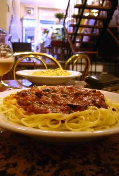 パスタ&ビール@アイス屋 Pasta&Beer@Gelateria_d0047851_23444396.jpg