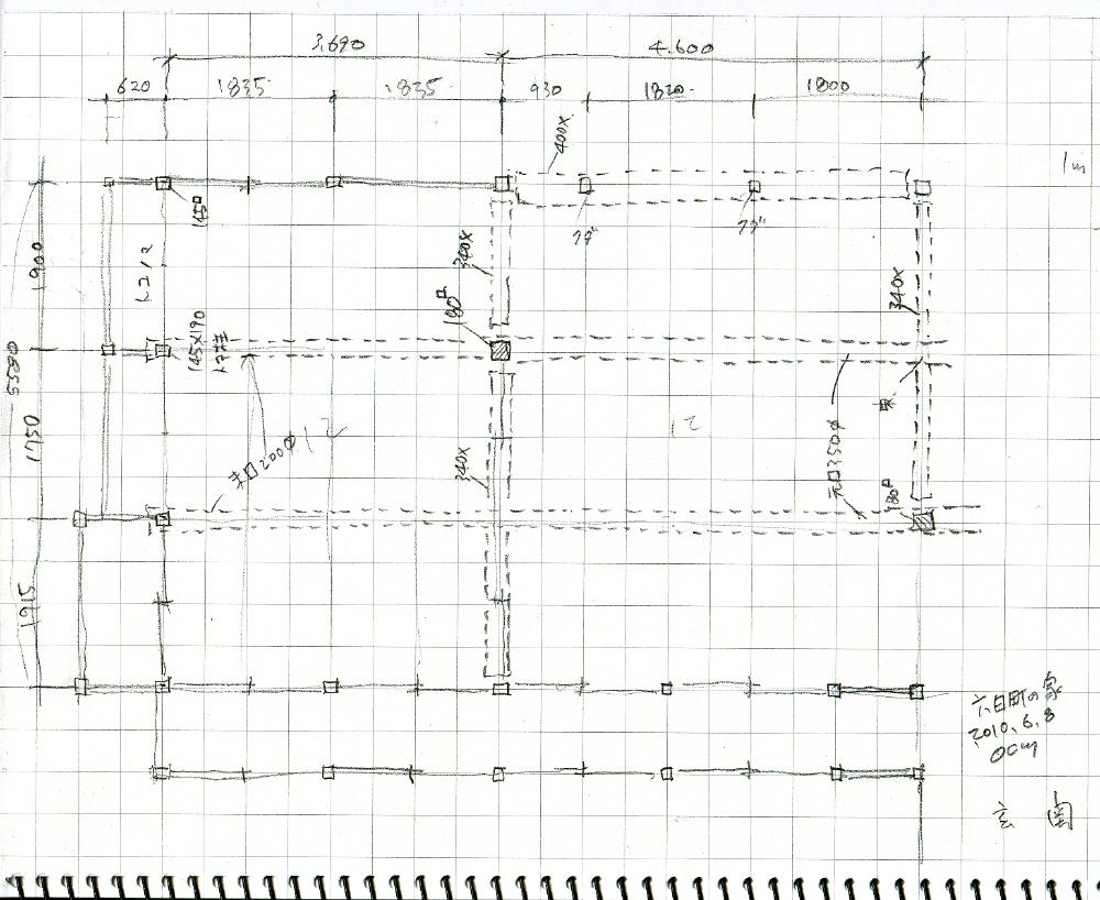 「六日町の古民家」survey_f0230666_13132650.jpg