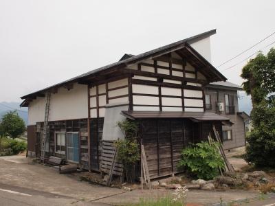 「六日町の古民家」the original condition of the outside_f0230666_8592414.jpg