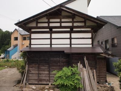 「六日町の古民家」the original condition of the outside_f0230666_8593585.jpg
