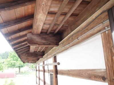 「六日町の古民家」the original condition of the outside_f0230666_913340.jpg
