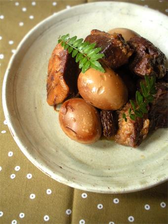 豚の角煮と、味玉と。_d0157677_20355873.jpg