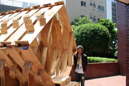 東京大学大学院木質材料学研究室展開催中です。_f0171840_1412293.jpg
