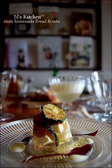 夏野菜と素麺のクリスタルジュレ(レシピ)_a0105872_1052596.jpg