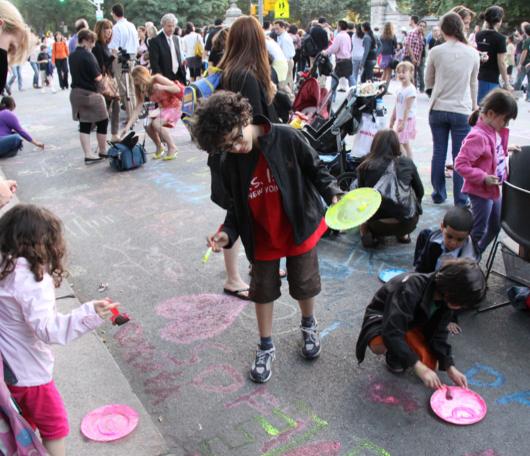 NY最大の美術館通りのお祭り Museum Mile Festival 2010_b0007805_12123850.jpg