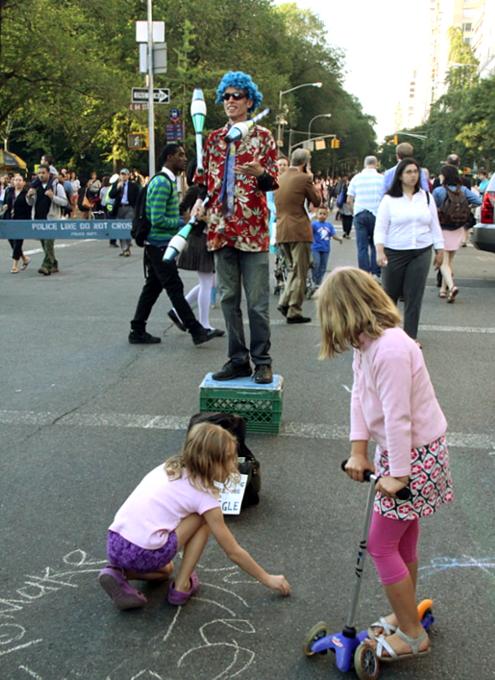 NY最大の美術館通りのお祭り Museum Mile Festival 2010_b0007805_1284161.jpg