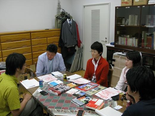 6/1 寺山修司記念館にてミーティング&撮影。_c0216068_23413262.jpg