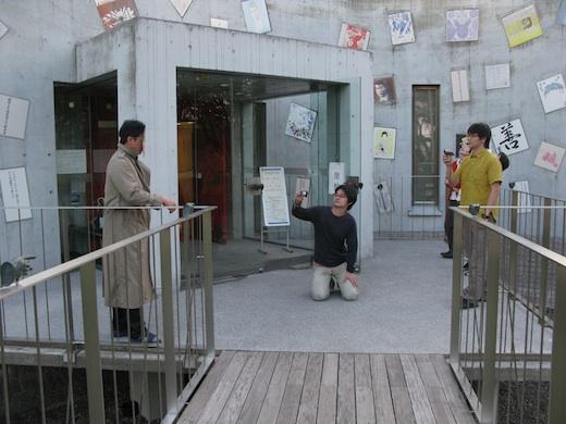 6/1 寺山修司記念館にてミーティング&撮影。_c0216068_23433566.jpg