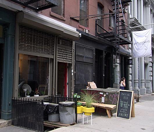 NYに6月限定の抹茶専門店オープン中 The Matcha Box_b0007805_8405955.jpg