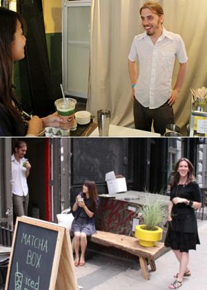 NYに6月限定の抹茶専門店オープン中 The Matcha Box_b0007805_8415318.jpg
