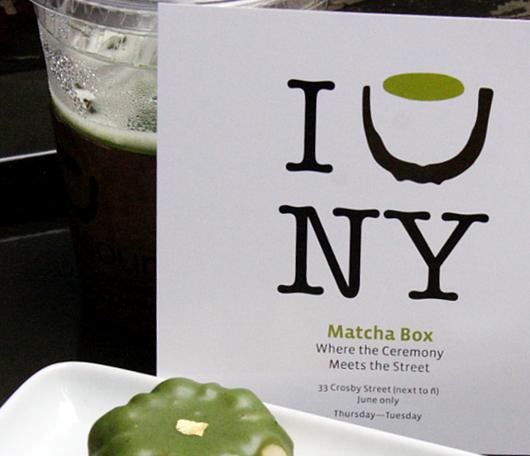 NYに6月限定の抹茶専門店オープン中 The Matcha Box_b0007805_844234.jpg