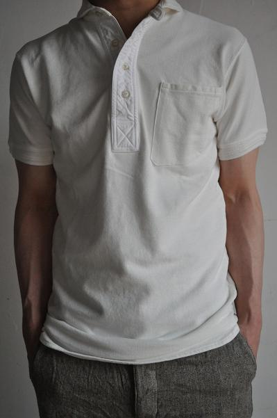 HAVERSACK/ハバーサック Round Collar Polo Shirt