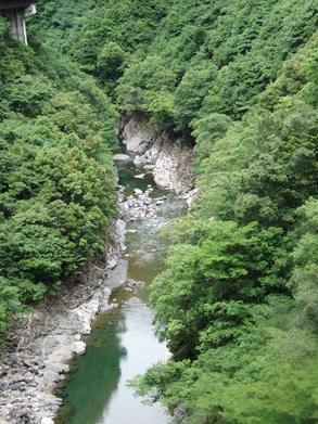 2010/6/12 川辺川 上流部キャニオニング_f0230770_13395720.jpg