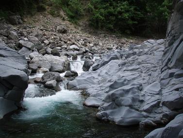 2010/6/12 川辺川 上流部キャニオニング_f0230770_1514845.jpg