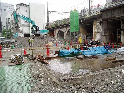 さよなら交通博物館 建物の解体状況(7) 5月中旬篇_f0030574_0262512.jpg