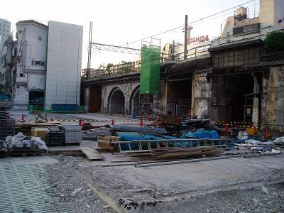 さよなら交通博物館 建物の解体状況(7) 5月中旬篇_f0030574_0274939.jpg