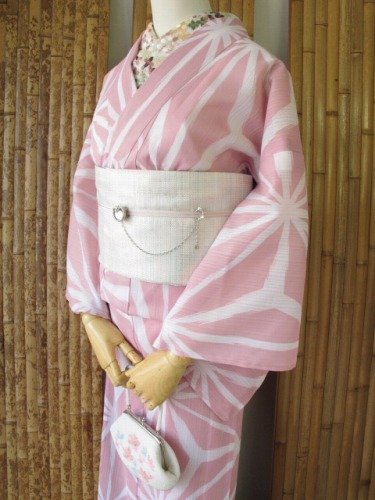 今年の浴衣 「麻の葉」 新色が発売開始!_e0115399_948650.jpg