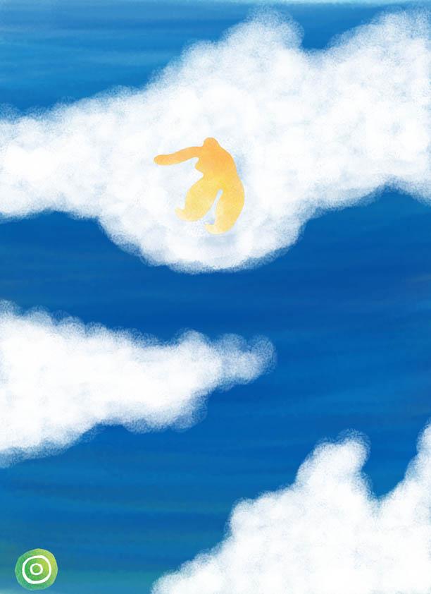 水と雲と蟹_f0179615_4114531.jpg
