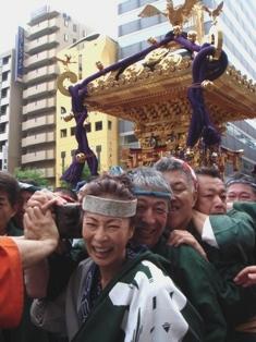 6月13日(日) 【付録】今年の築地獅子祭り_d0082944_21411413.jpg