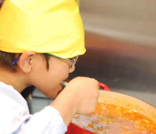 カレー作りとお誕生日ケーキ_f0224567_22251841.jpg