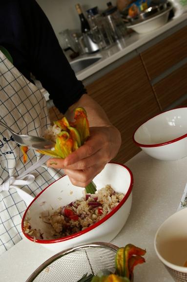 ズッキーニを料理する_c0170194_21454813.jpg