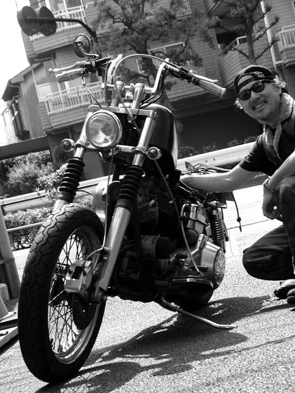 遠藤 栄次郎 & Herley-Davidson FLH(2010 0522)_f0203027_959521.jpg