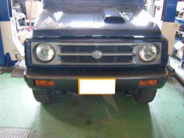 ジムニーJA11 フロントバンパー取付け etc・・・_a0143349_14371256.jpg