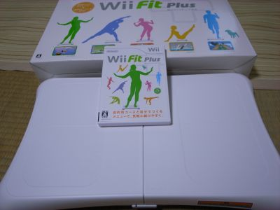 wii fit プラス届く_a0007462_20344835.jpg