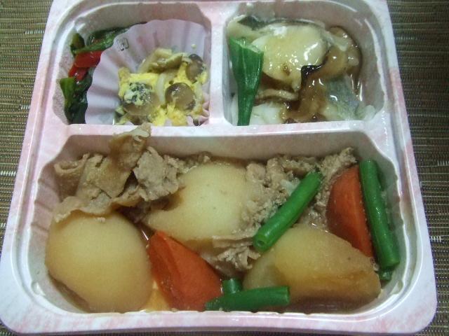 気くばり御膳プラス 大きな肉じゃがと鱈の生姜あんかけ_f0076001_23492095.jpg