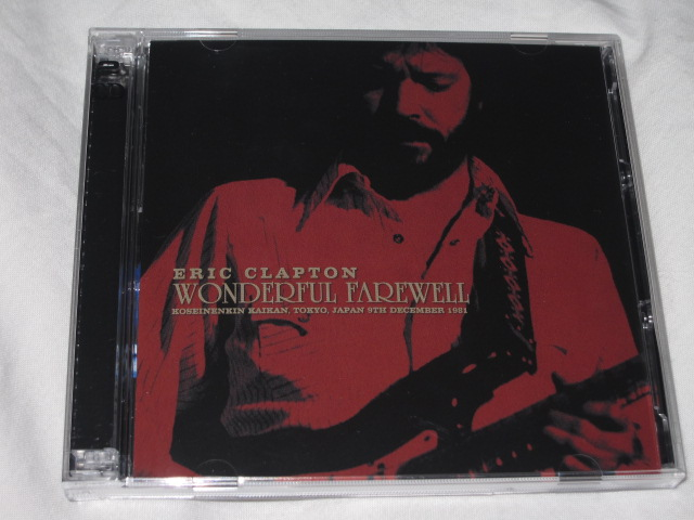 ERIC CLAPTON / WONDERFUL FAREWELL_b0042308_20422070.jpg