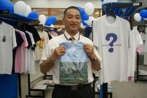 宇宙ヨット「イカロス」の帆 by JAXA/チャリティ「Tシャツアート展」3日目@日本財団ビル_f0006713_23501998.jpg