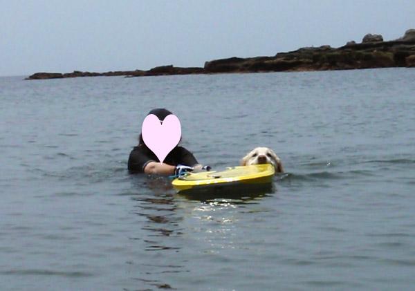 前々から約束ちてた海遊び♪〜_c0110361_1632189.jpg