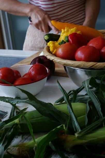 夏野菜マンサイ!_c0170194_2314483.jpg