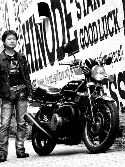 佐々木 啓介 & kawasaki KZ1000Mk2(2010 0522)_f0203027_10314179.jpg