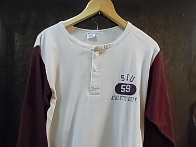 6/19(土)入荷!80'S チャンピオン トリコタグ BASEBALLシャツ_c0144020_1722094.jpg