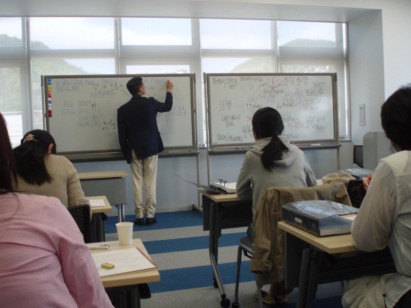 日本滞在記⑦ 広島レベル2の講義と調理実習_f0095325_1319175.jpg