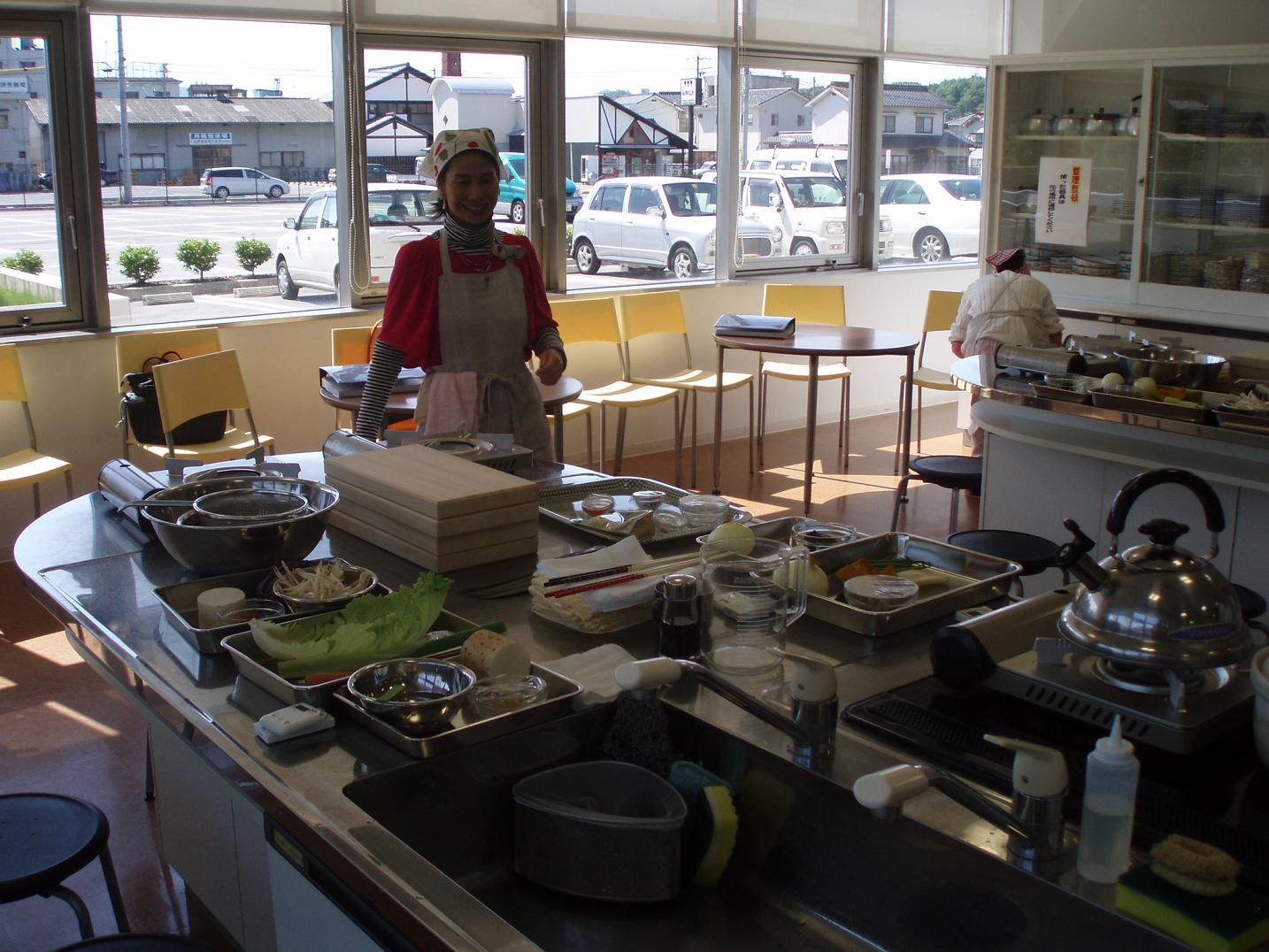 日本滞在記⑦ 広島レベル2の講義と調理実習_f0095325_20352580.jpg