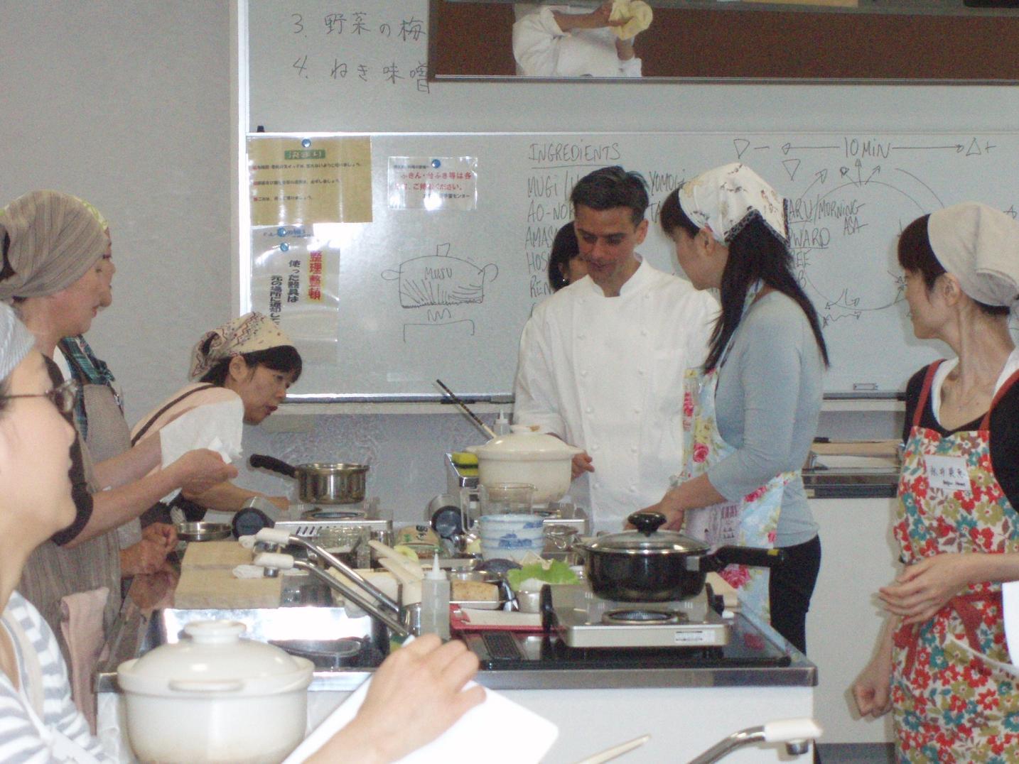 日本滞在記⑦ 広島レベル2の講義と調理実習_f0095325_20372979.jpg