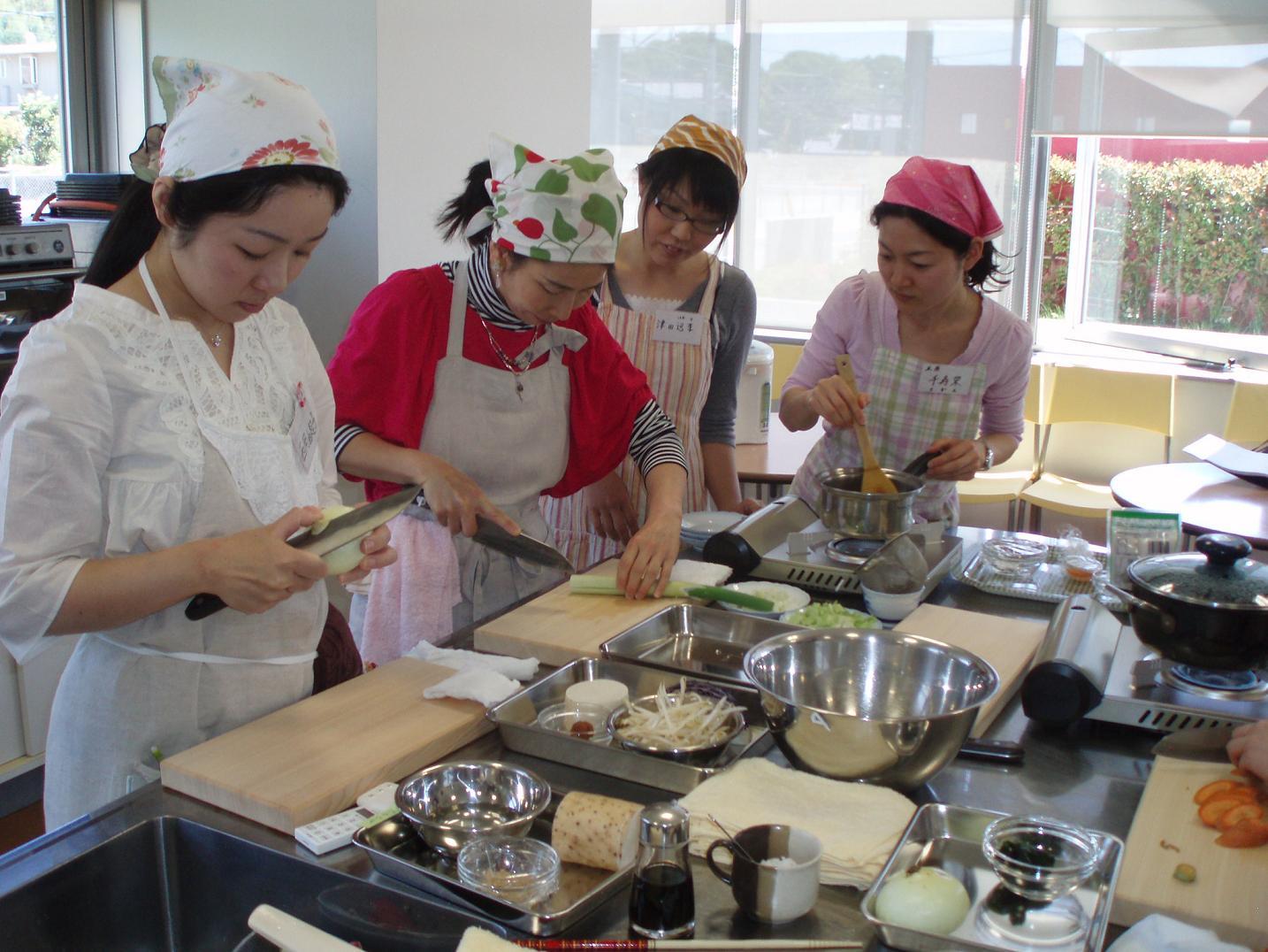 日本滞在記⑦ 広島レベル2の講義と調理実習_f0095325_20374793.jpg
