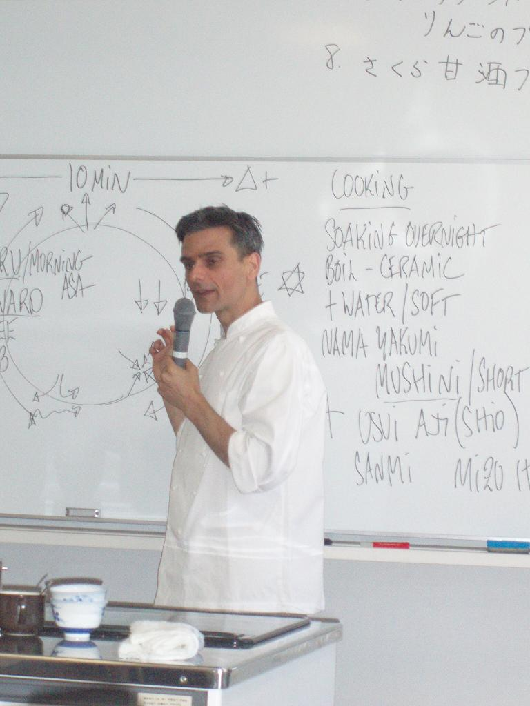 日本滞在記⑦ 広島レベル2の講義と調理実習_f0095325_20384829.jpg