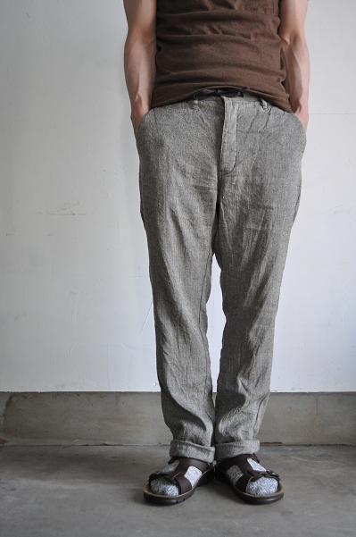 Ordinary fits L/S Herringbone Easy Pants