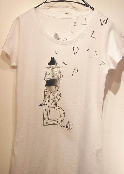 Tシャツ展☆9日目_a0043747_1620286.jpg