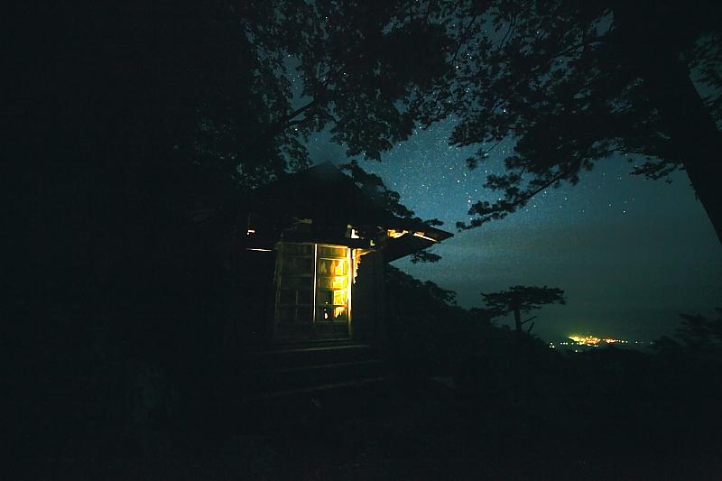 石上山、中之堂の一夜_f0075075_13292422.jpg