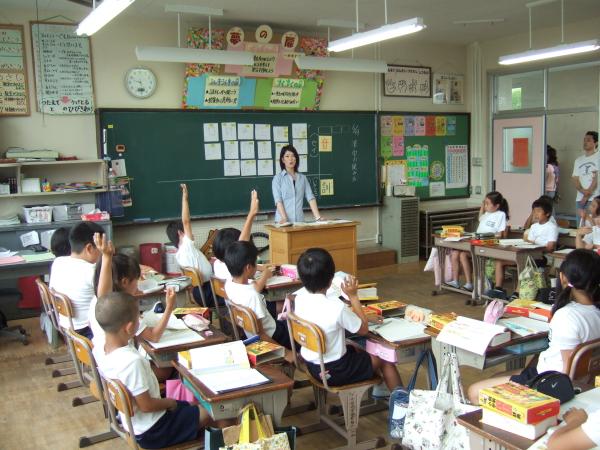 授業参観日に行ってきました。_d0130291_13405324.jpg