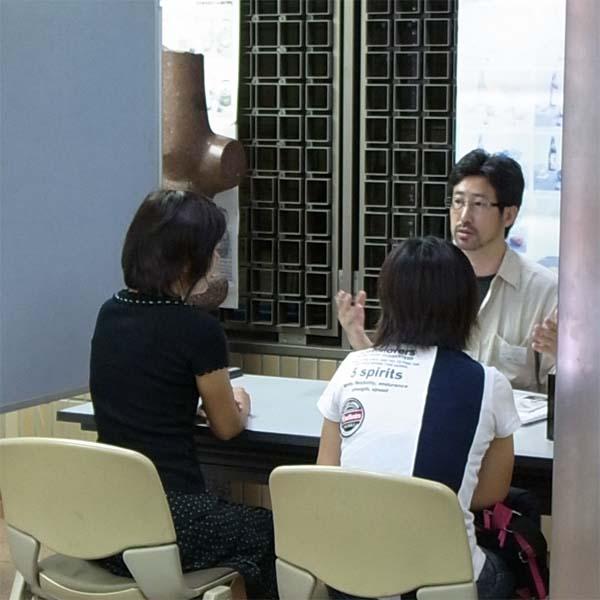 『美大受験生と保護者のための夏の入学相談会』が行われました。_f0227963_2037787.jpg