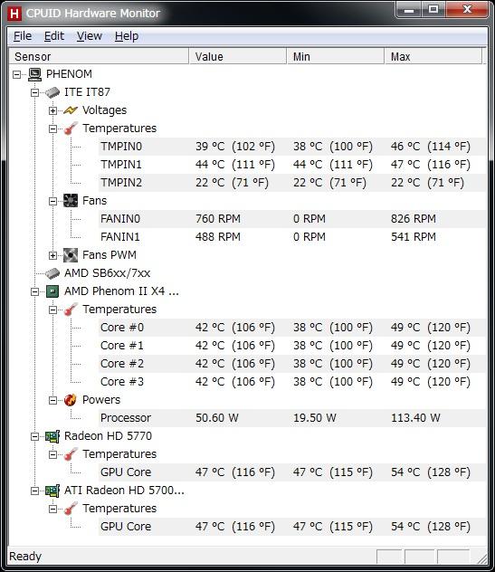 メインパソコン用にグラフィックカード RH5770-E1GHD/DP/G3 を買った。_b0003577_2072439.jpg