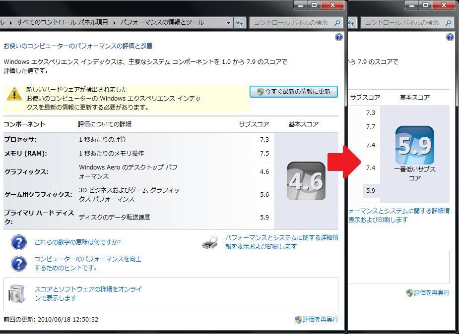 メインパソコン用にグラフィックカード RH5770-E1GHD/DP/G3 を買った。_b0003577_2110523.jpg