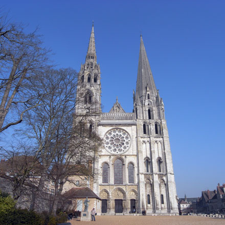 シャルトルの大聖堂 フランス ピンホール写真展「時の旋律」 コニカミノルタプラザ_f0117059_8414735.jpg