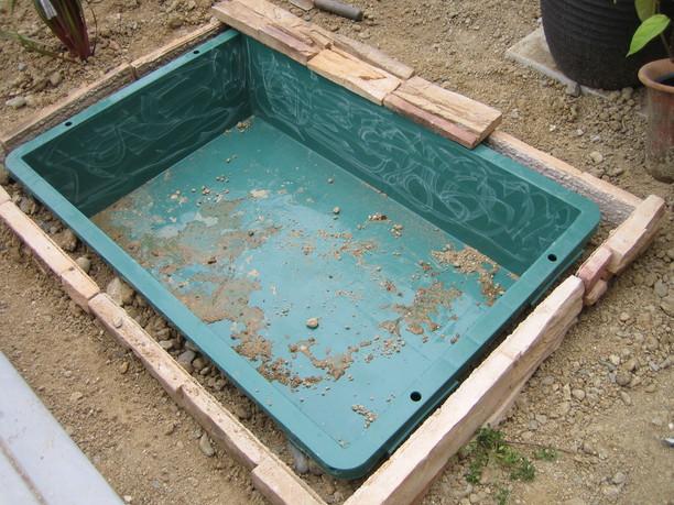 水のガーデン☆簡単!お池の作り方_a0142778_17145854.jpg
